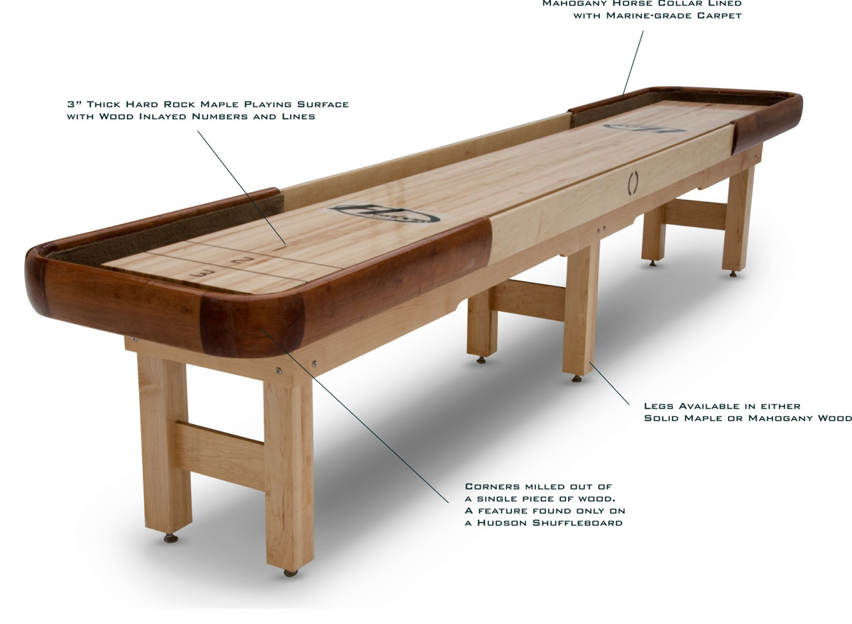 The 5 Best Shuffleboard Table Brands I Shuffleboard ...