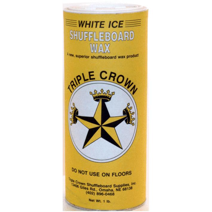 Triple Crown White Ice Shuffleboard Powder - 12 Pack