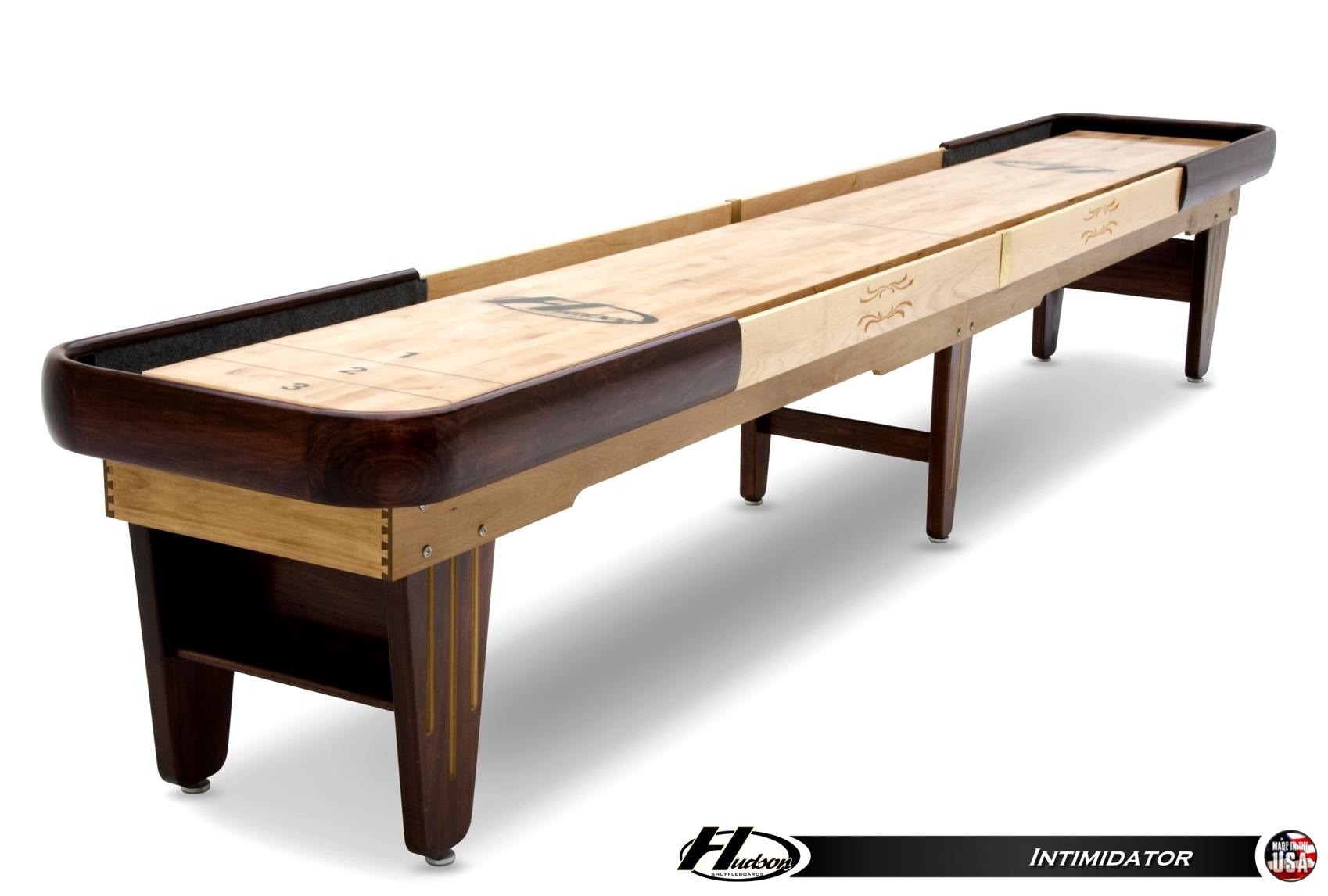 18 Foot Intimidator Shuffleboard Table