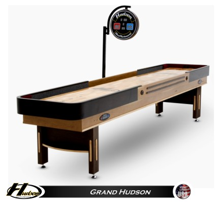 9 Foot Grand Hudson Shuffleboard Table
