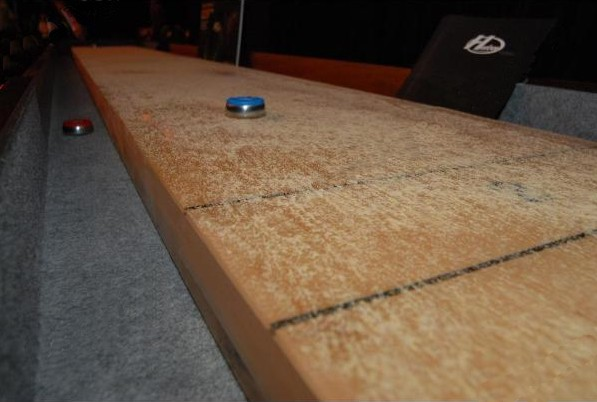 Waxed Shuffleboard Table
