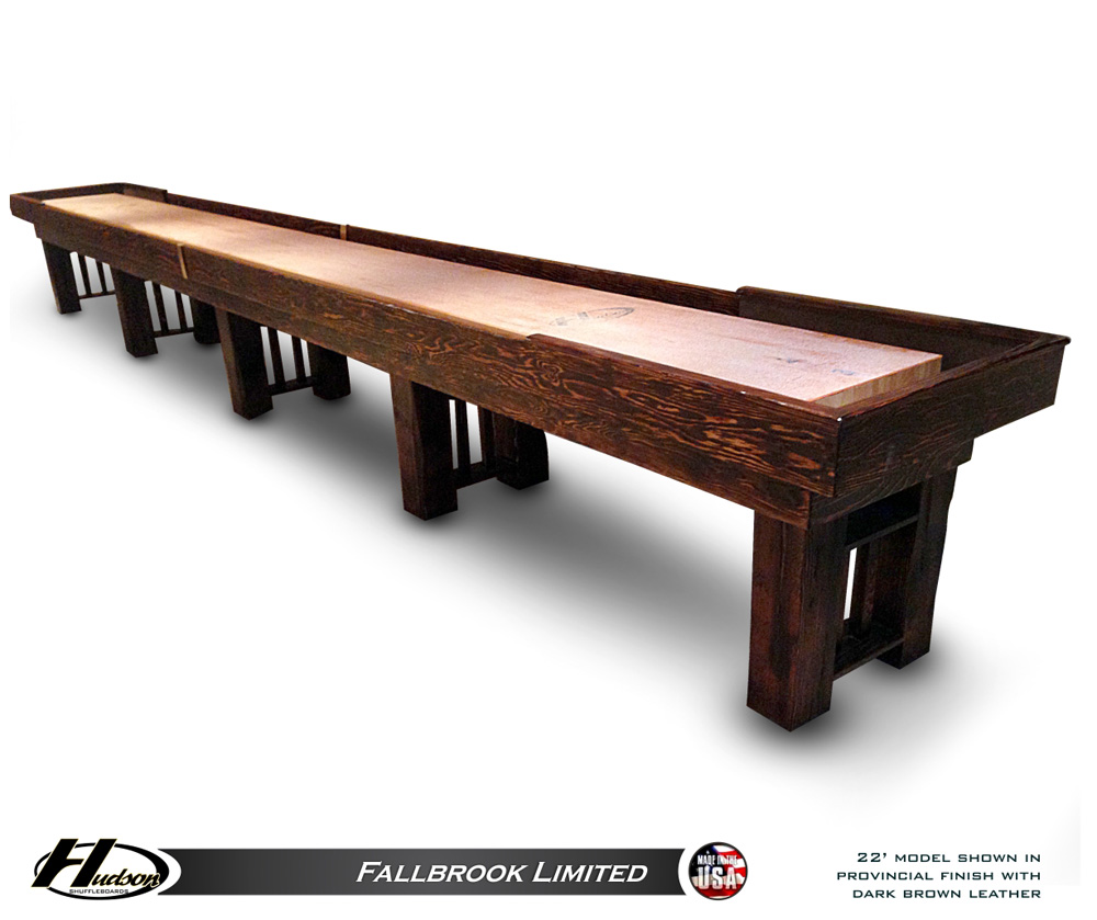 Hudson Fallbrook Shuffleboard Table