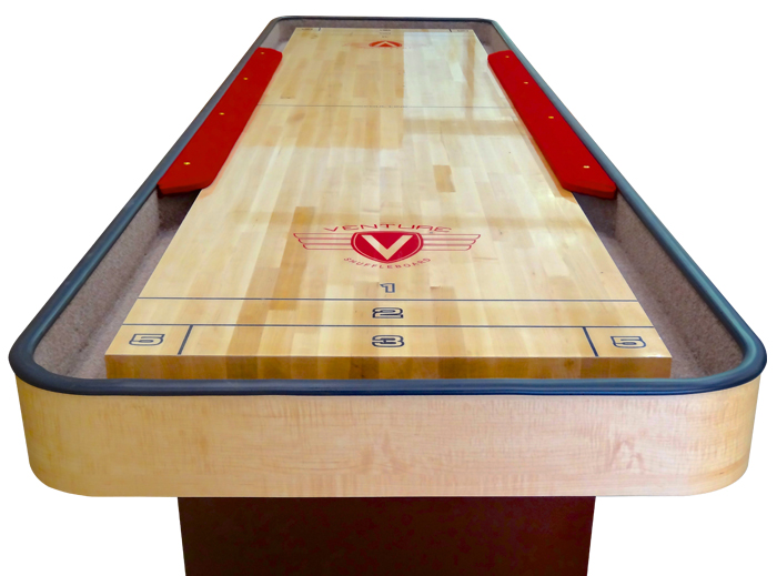 Venture Classic Cushion Shuffleboard Table