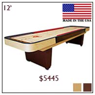 Classic Cushion Shuffleboards