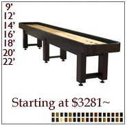 Tradition Shuffleboard Tables
