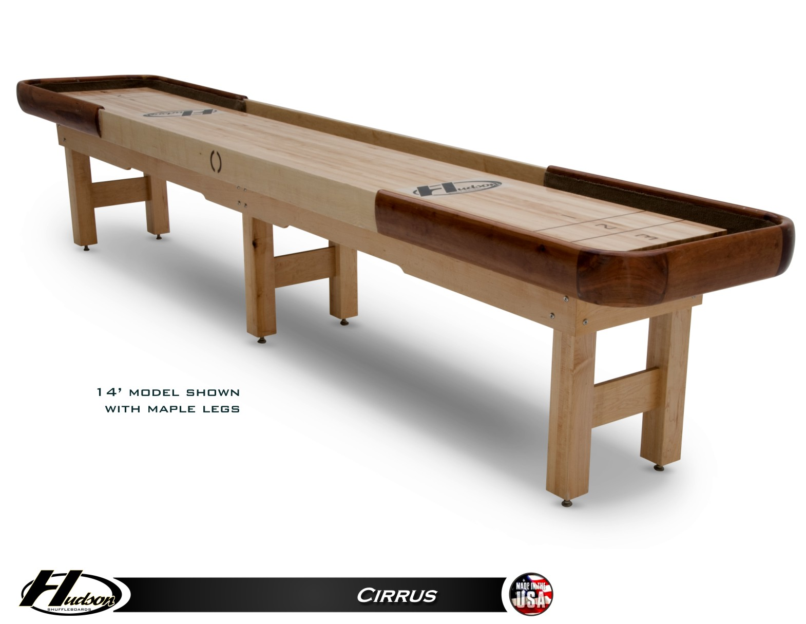 20u0027 Cirrus Outdoor Shuffleboard Table