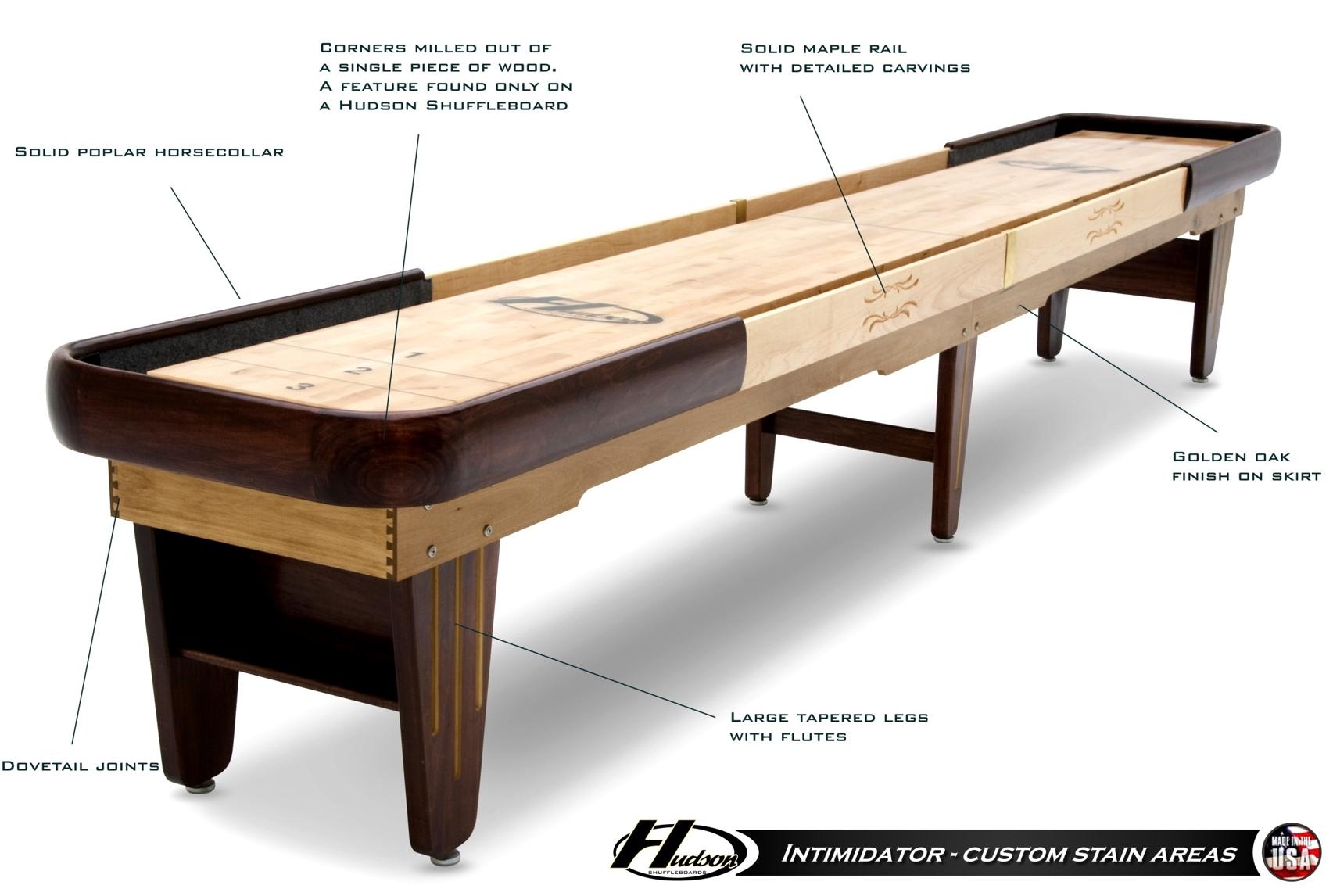 18 Intimidator Shuffleboard Table