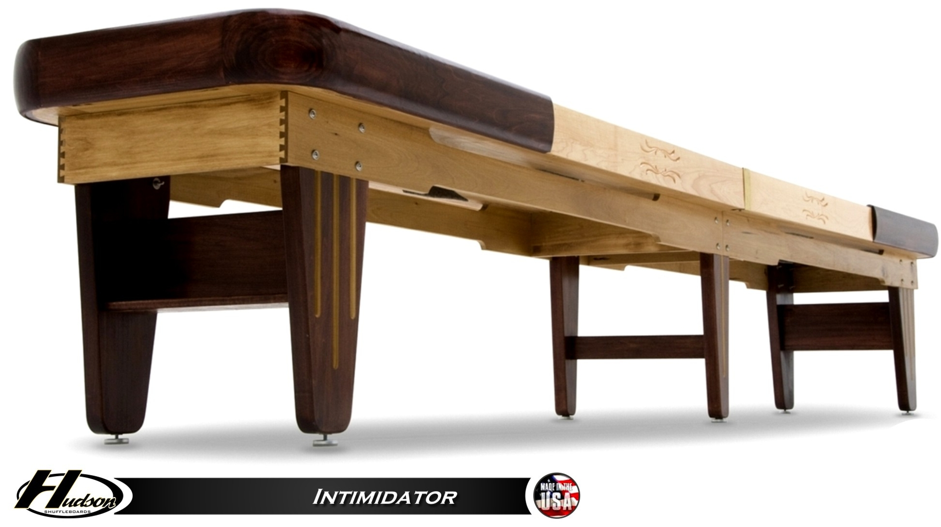 12 39 intimidator shuffleboard table for 12 foot shuffleboard table dimensions