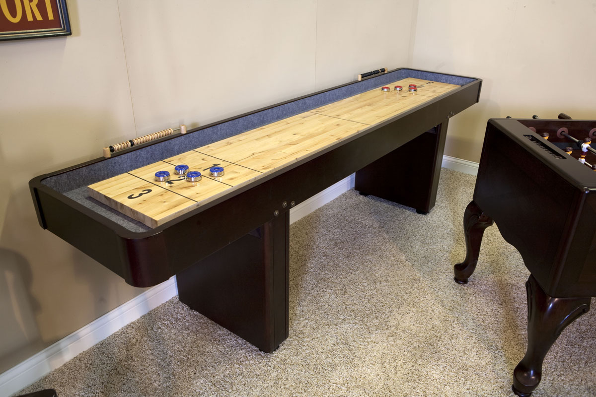 12 Level Best Shuffleboard Traditional Mahogany