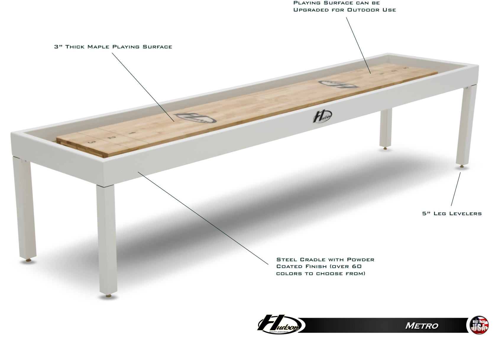 12 39 metro shuffleboard table for 12 foot shuffleboard table dimensions