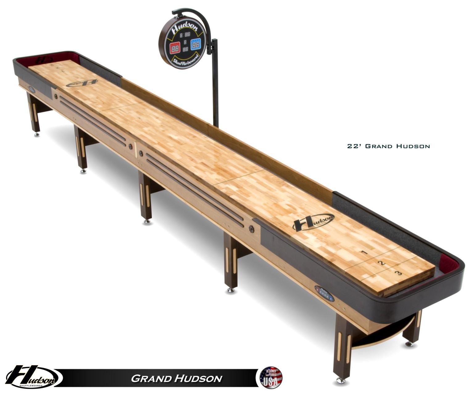9 Grand Hudson Shuffleboard Table Shuffleboard Net
