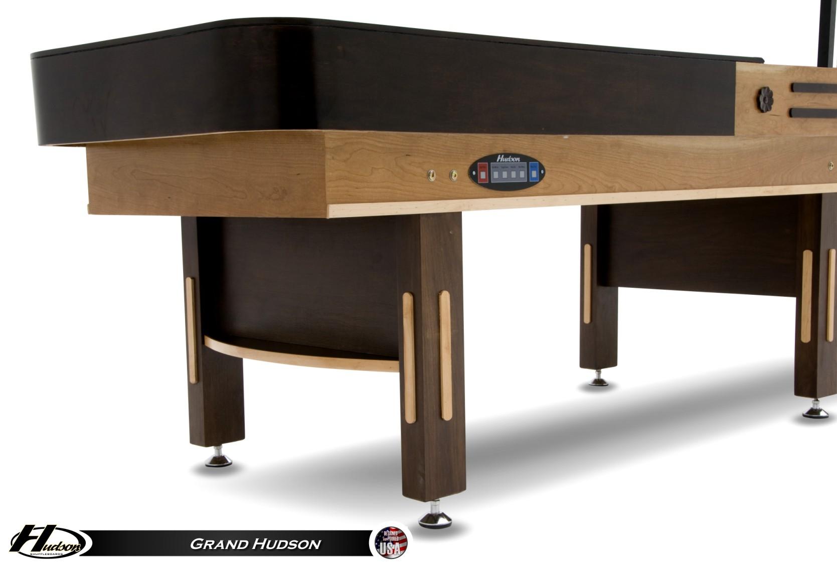 detail5 14' grand hudson shuffleboard table shuffleboard net  at reclaimingppi.co
