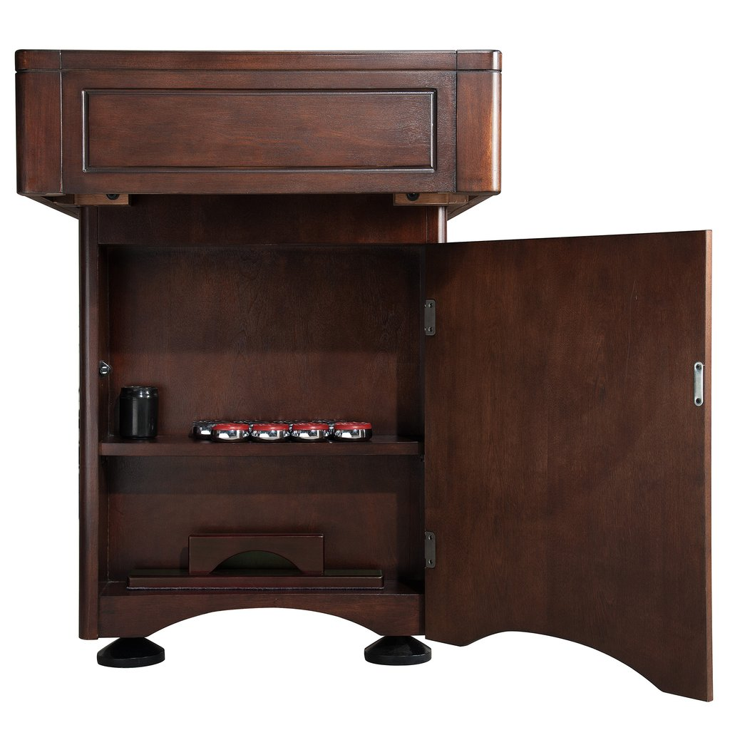 Cabinet finished in a rich Mahogany