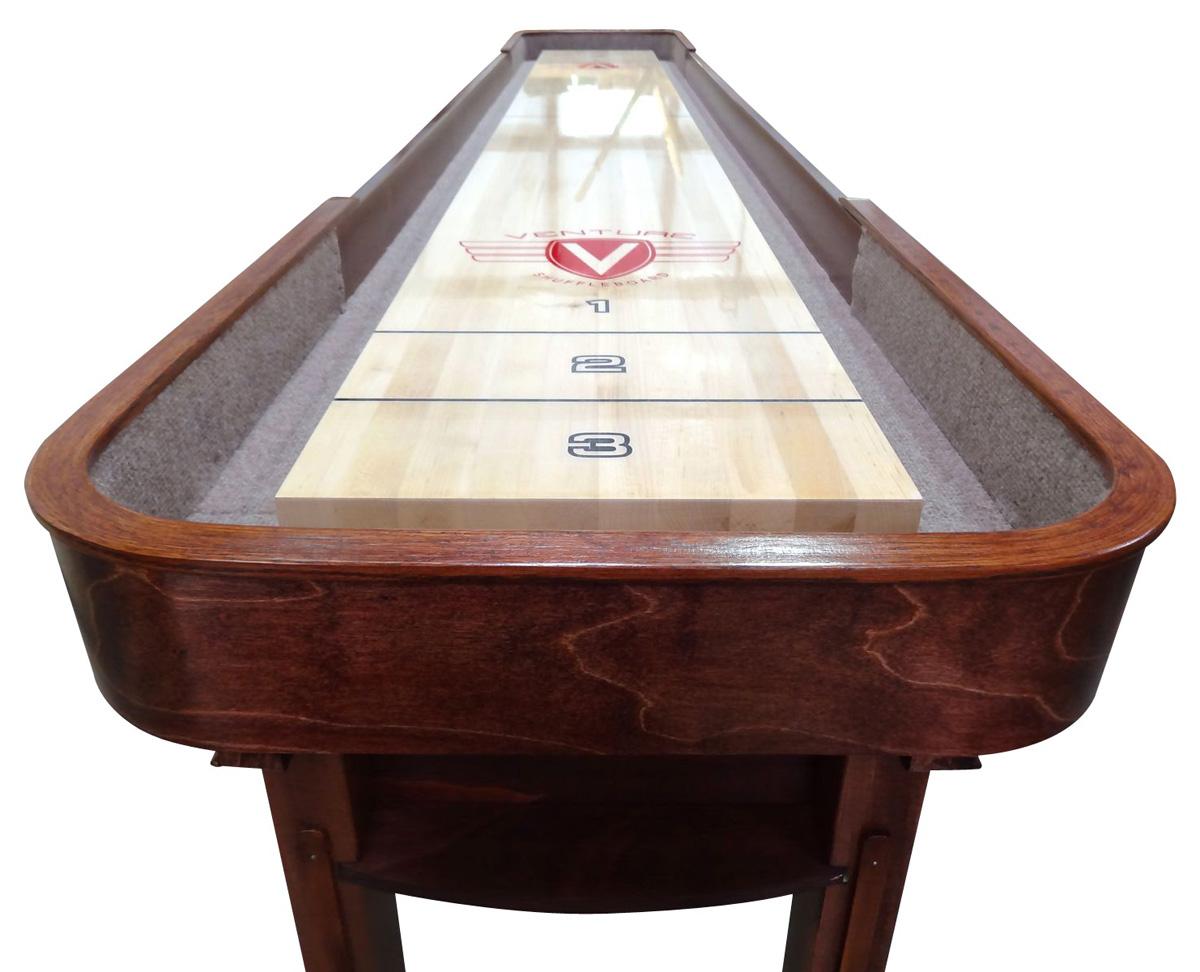 12 Grand Deluxe Sport Shuffleboard Table