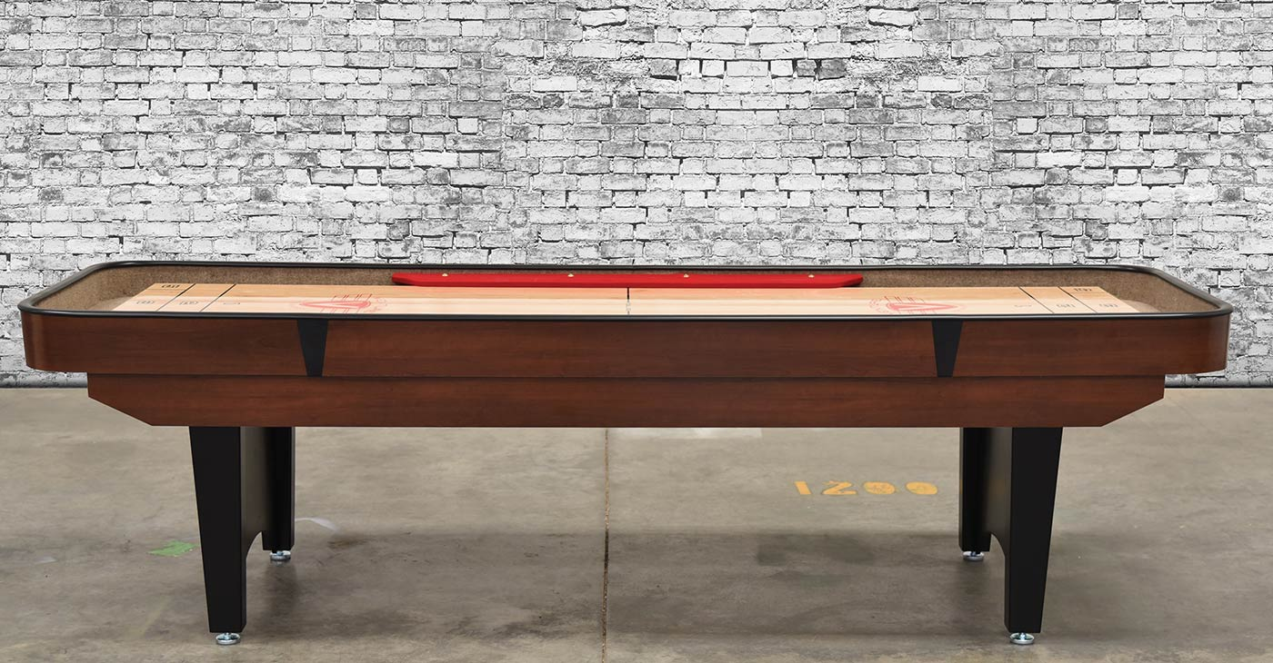 9 Classic Bank Shot Shuffleboard Table
