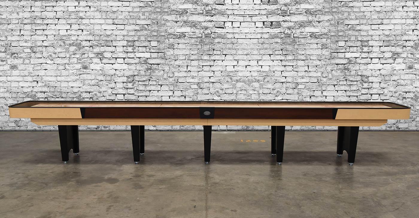coin op shuffleboard table