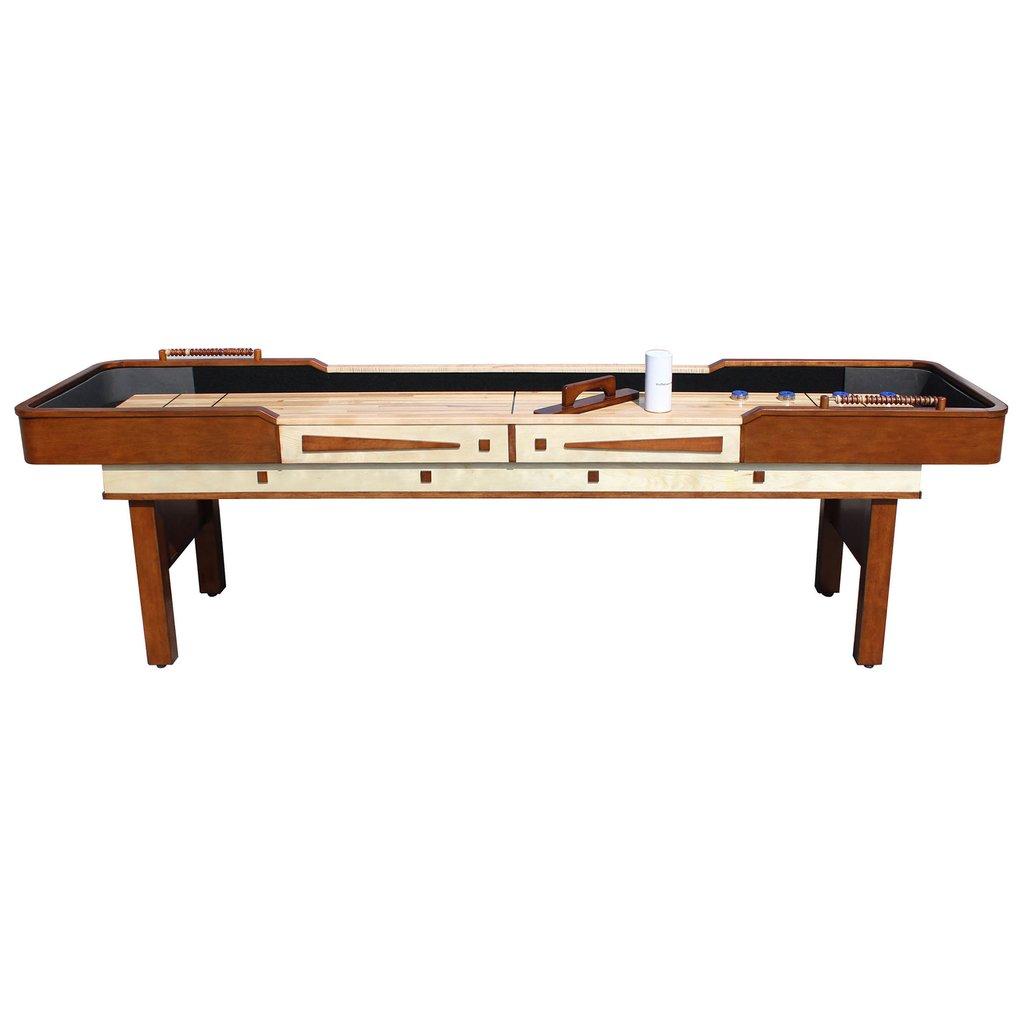 9' Merlot Shuffleboard Table