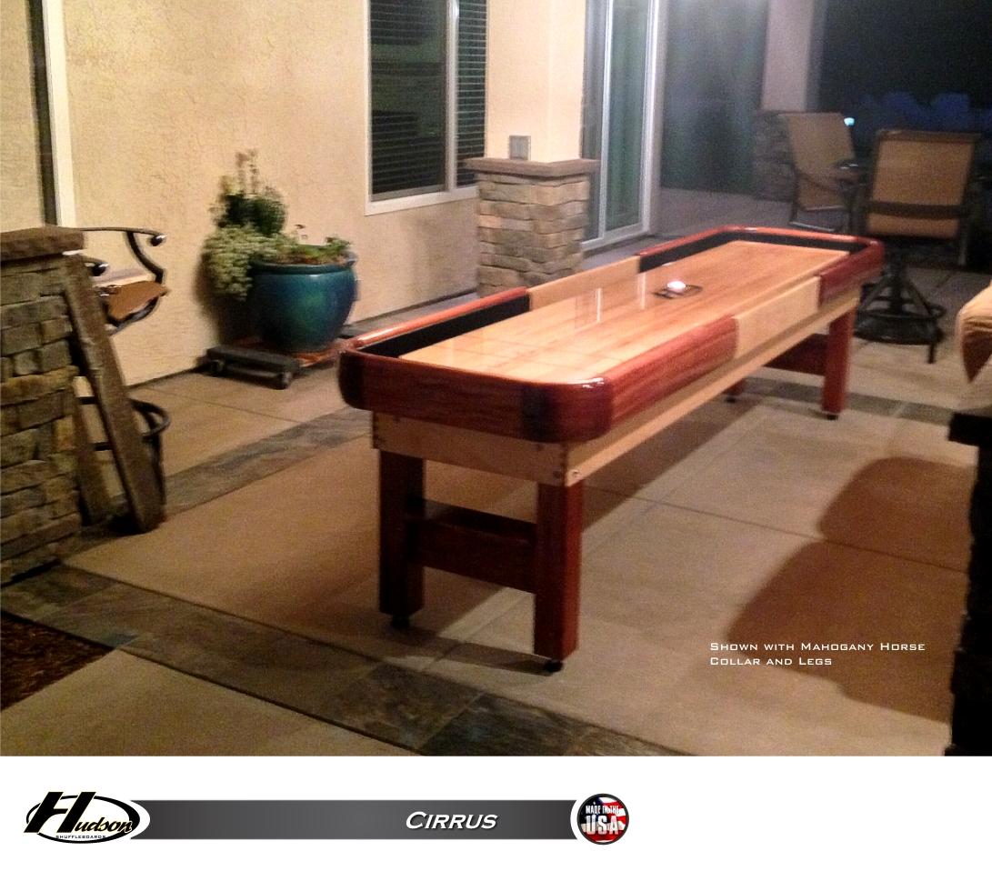 14' Cirrus Outdoor Shuffleboard Table