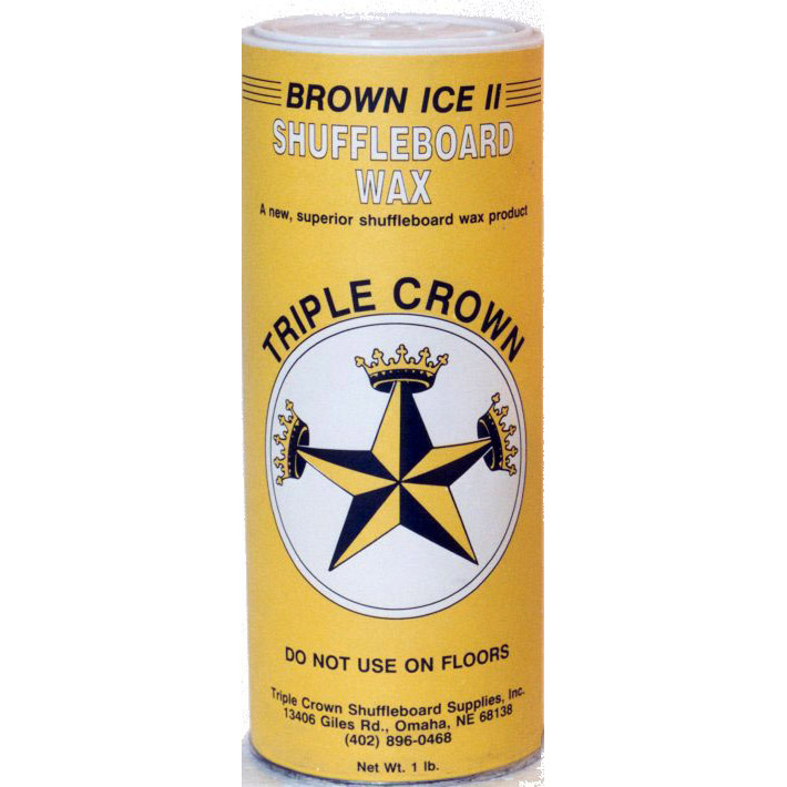Triple Crown Brown Ice Shuffleboard Powder - 12 Pack