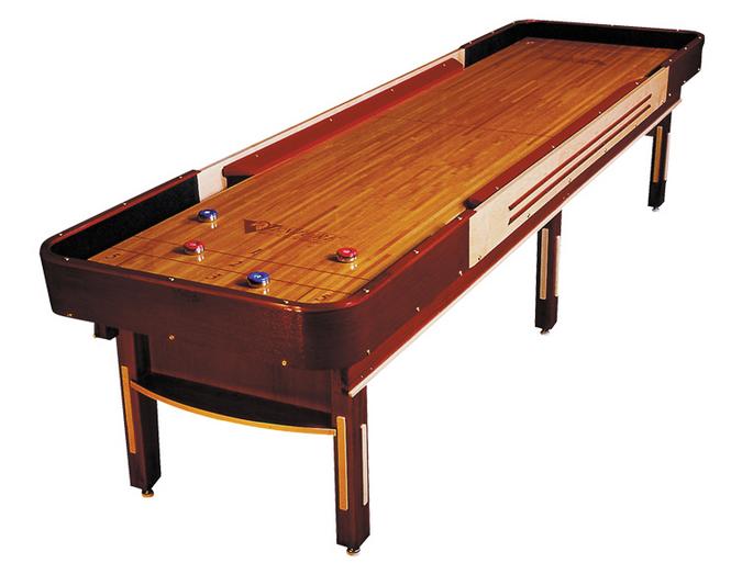 12' Grand Deluxe Cushion Shuffleboard Table