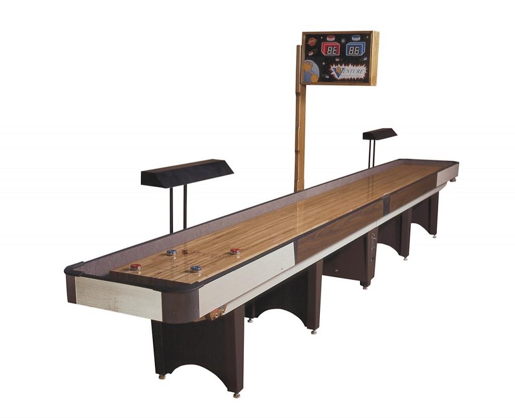 18' Classic Coin-Op Shuffleboard Table