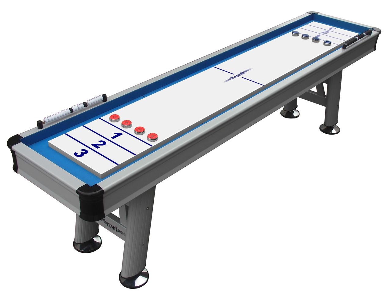 9' Extera Outdoor Shuffleboard Table