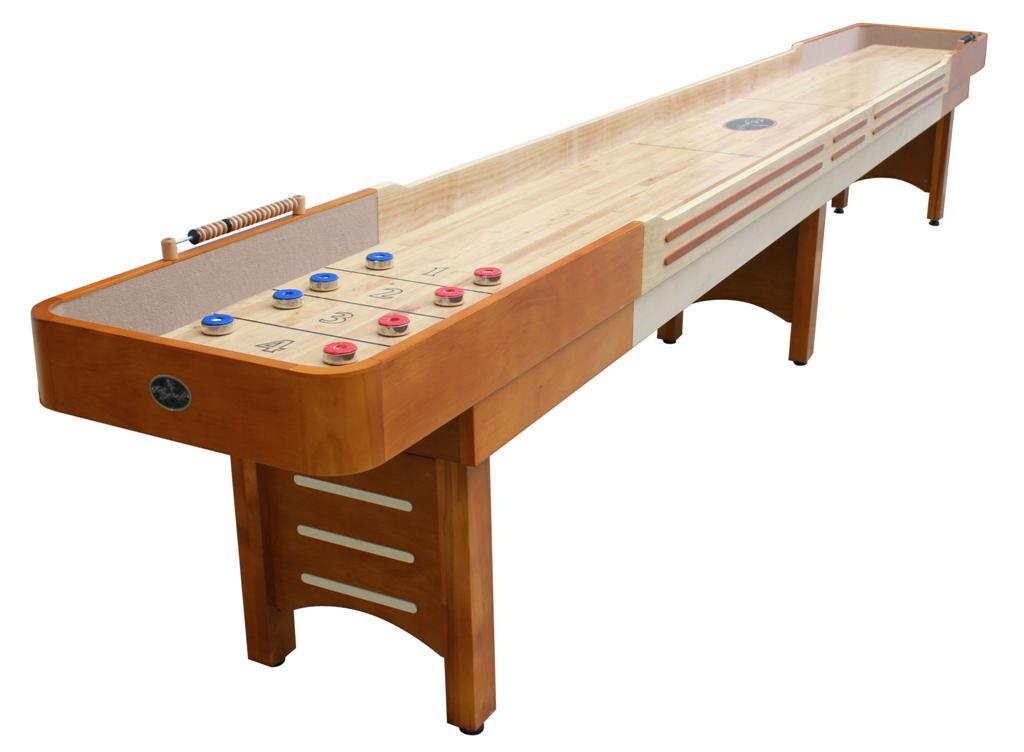 16' Honey Maple Coventry Shuffleboard Table