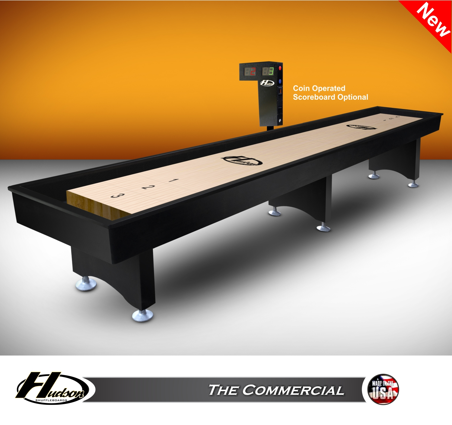 18' The Commercial Shuffleboard Table