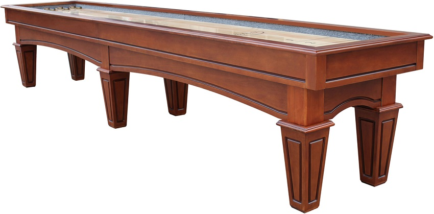 14' Chestnut Playcraft St. Lawrence Pro-Style Shuffleboard Table