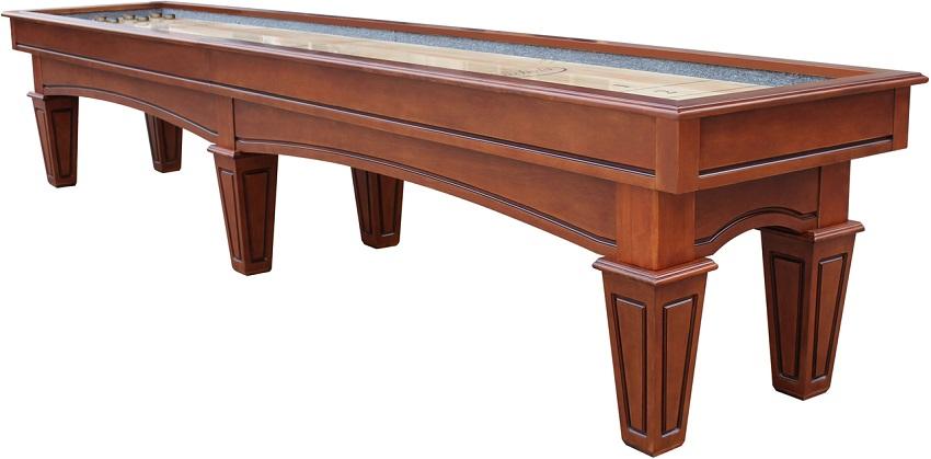 16' Chestnut Playcraft St. Lawrence Pro-Style Shuffleboard Table