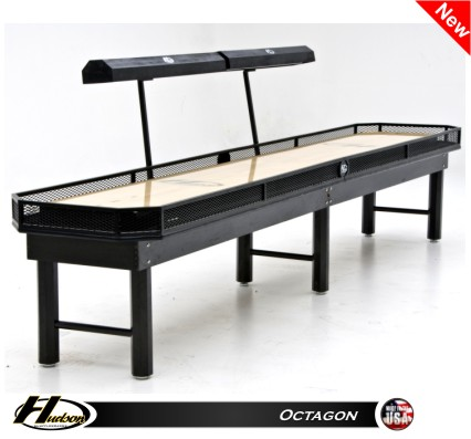9' Octagon Shuffleboard Table