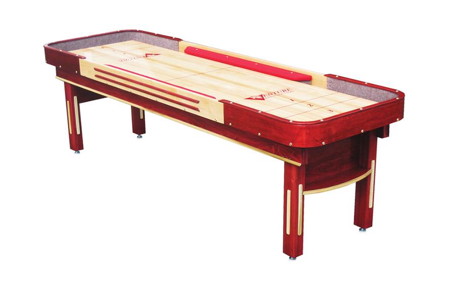 9' Grand Deluxe Bankshot Shuffleboard Table