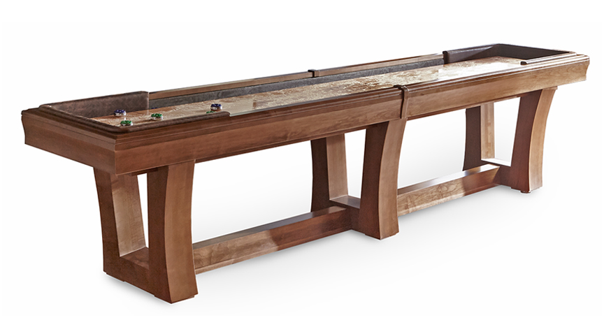 12' City Shuffleboard Table