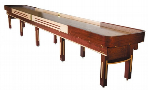 18' Grand Deluxe Shuffleboard Table