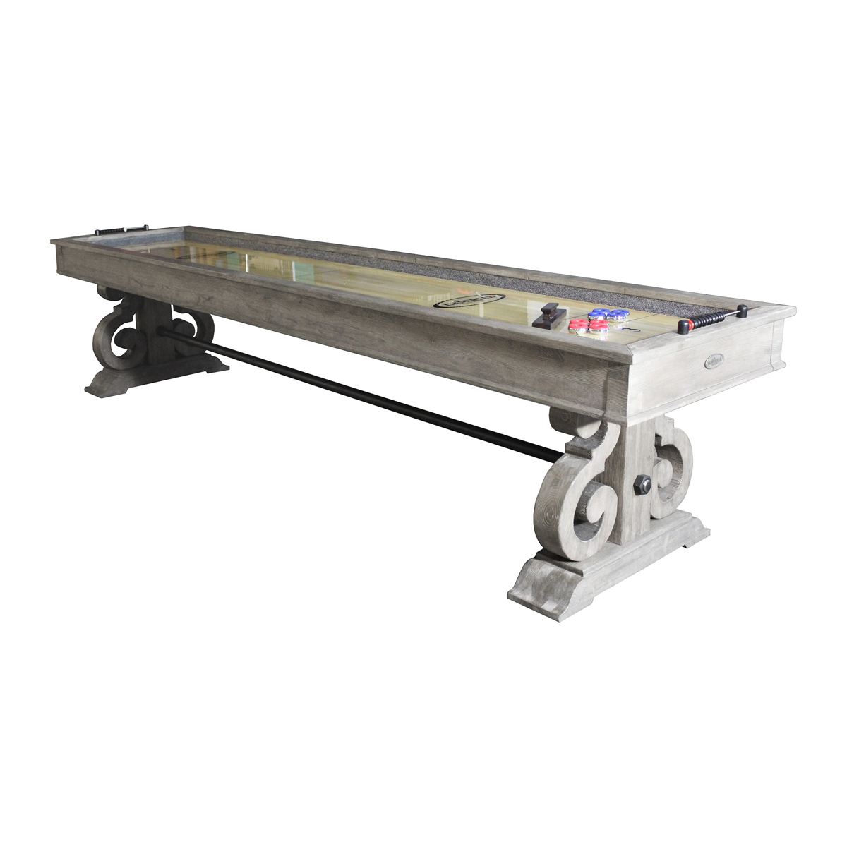 12 39 imperial barnstable shuffleboard for 12 foot shuffleboard table dimensions