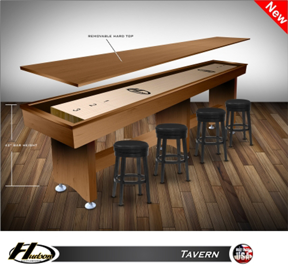 18' Tavern Shuffleboard Table