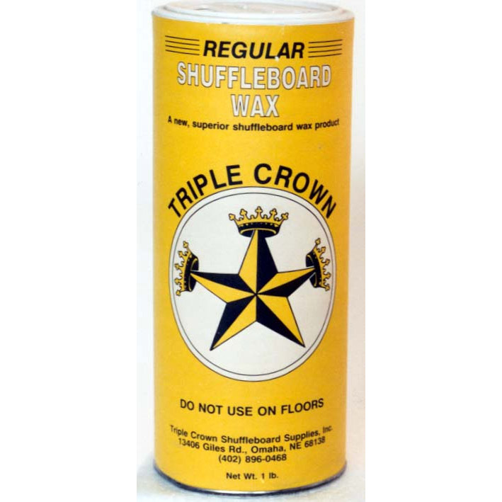 Triple Crown Yellow Ice Shuffleboard Powder - 12 Pack