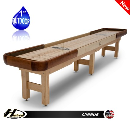16' Cirrus Outdoor Shuffleboard Table