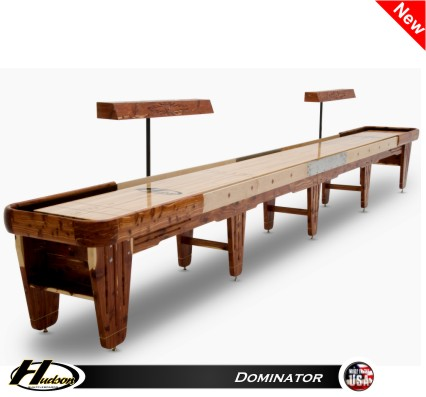 18' Dominator Shuffleboard Table