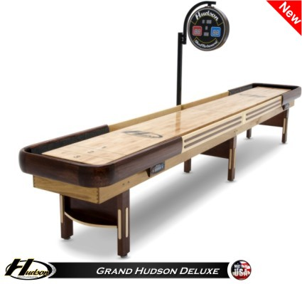 18' Grand Hudson Deluxe Shuffleboard Table