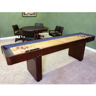 Beau 9u0027 Level Best Shuffleboard   Warm Chestnut