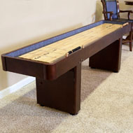 12' Level Best Shuffleboard - Warm Chestnut
