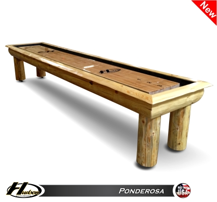 12' Ponderosa Shuffleboard Table