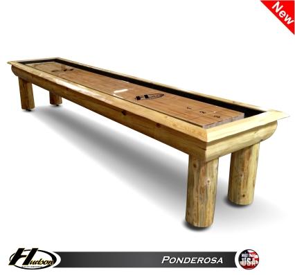 9' Ponderosa Shuffleboard Table