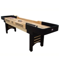 14'  Espresso Playcraft Coventry Shuffleboard Table