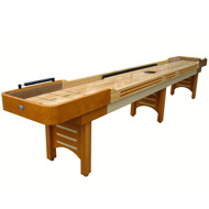 14' Honey Maple Playcraft Coventry Shuffleboard Table