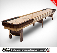 14' Grand Hudson Deluxe Hybrid Shuffleboard Table