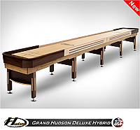 20' Grand Hudson Deluxe Hybrid Shuffleboard Table