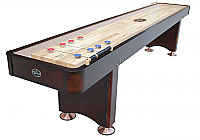12' Georgetown Espresso ShuffleBoard Table