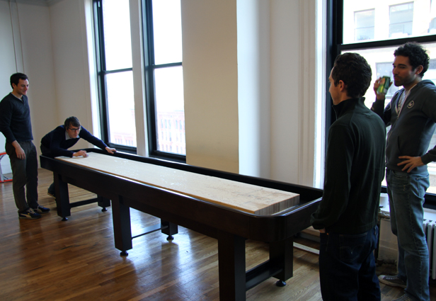 Shuffleboard Table At Foursquare Office